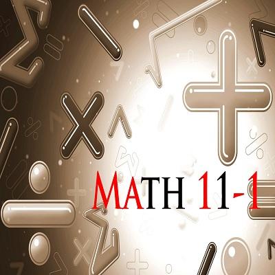理学院——数学11-1班