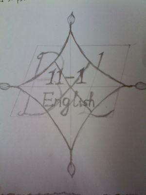 班旗设计图案大全 大学英语