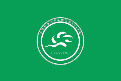 大学班旗设计素材