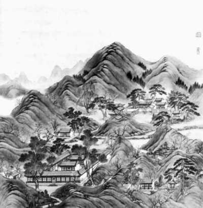 中国古典圆窗素材图片展示