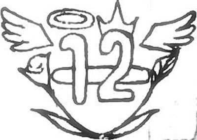 班徽手绘设计简单