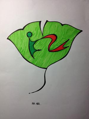 初中七班班旗设计图展示