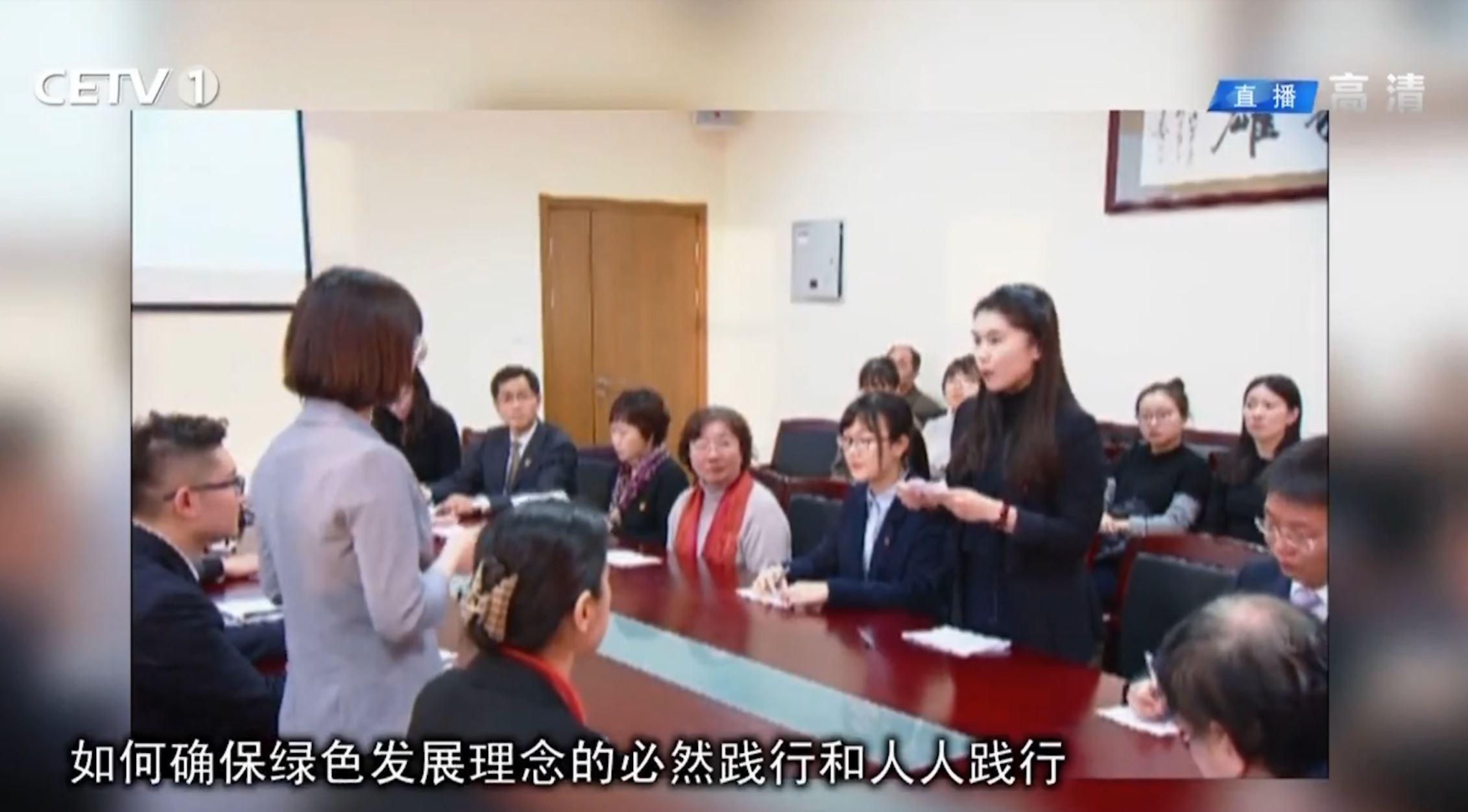 视频新闻第358期:中央教育电视台报道我校马克思主义学院论辩式党课